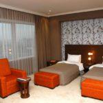 اتاق توئین هتل کاسپین بیزینس باکو