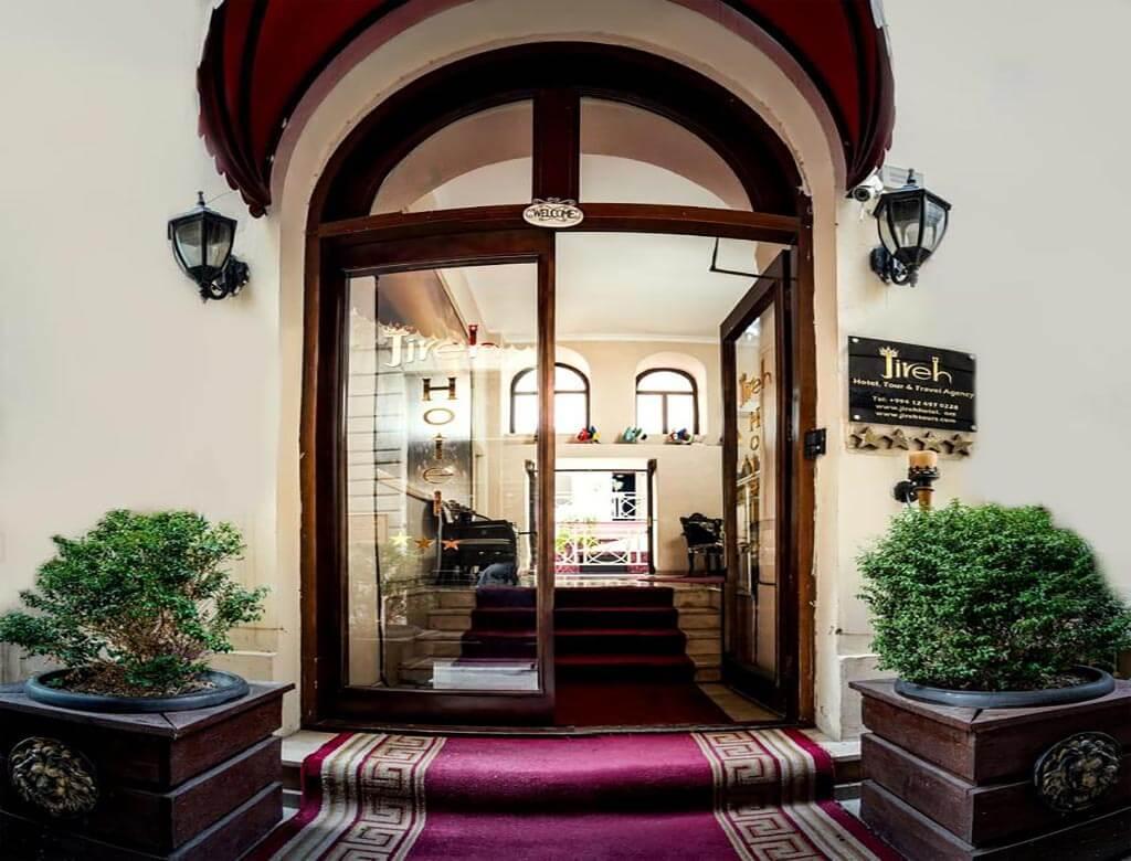 درب ورودی هتل جیره باکو