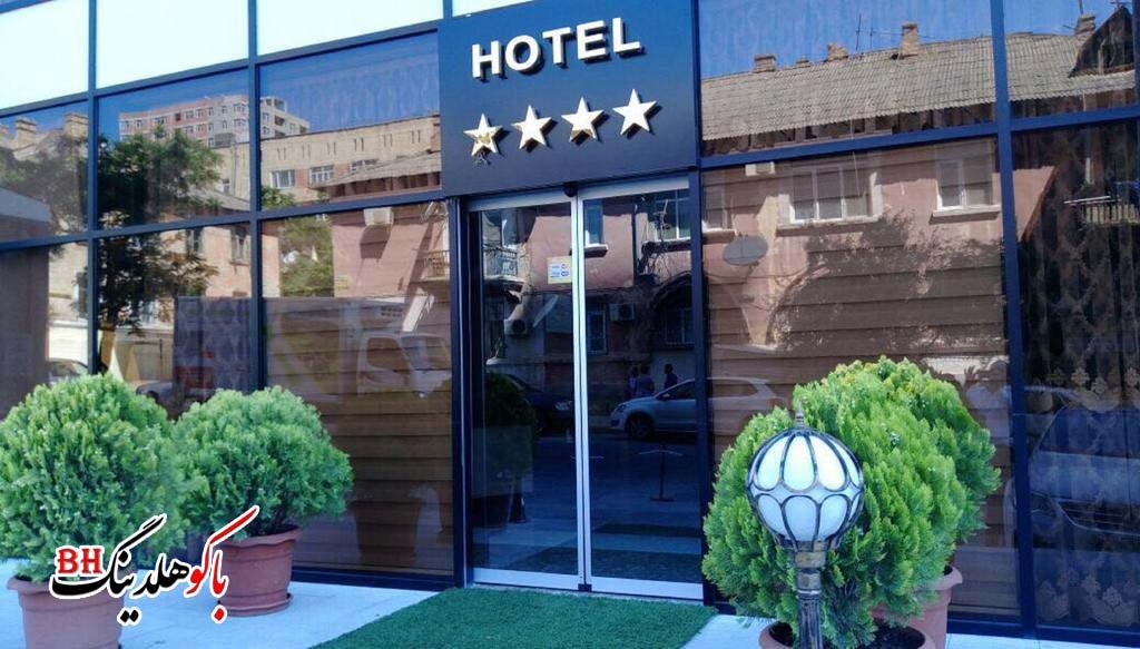 درب ورودی هتل نورد وست باکو