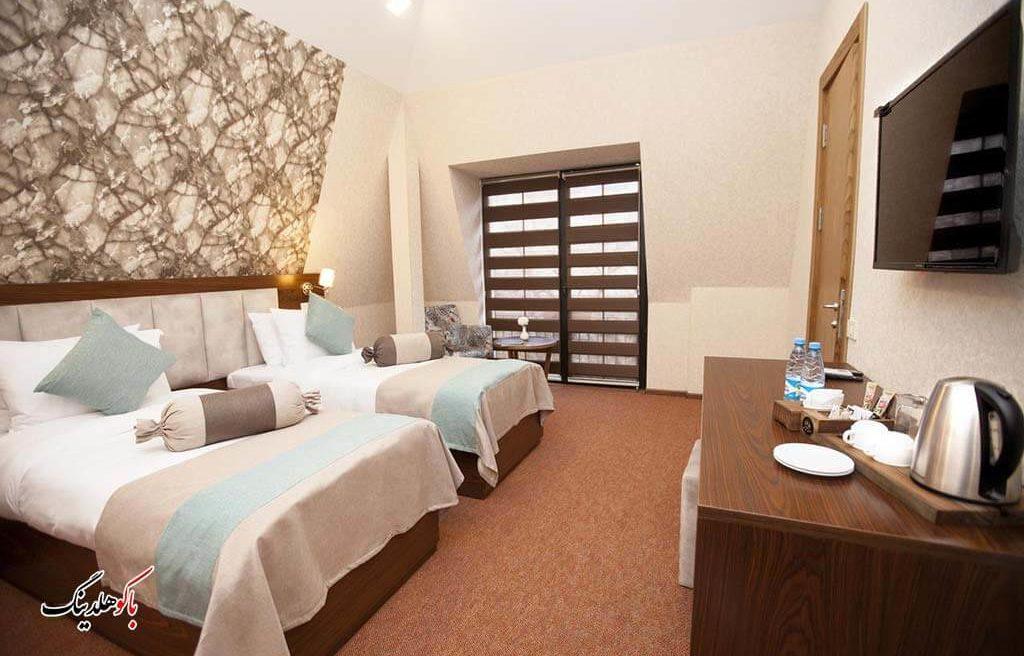 اتاق های توئین هتل آئوروم باکو