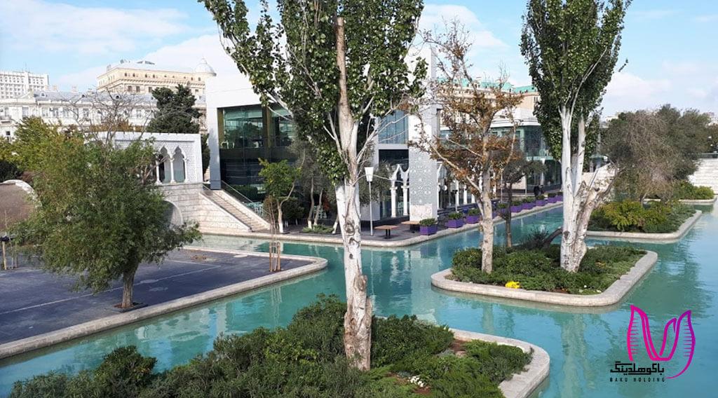 تصویری از ونیز کوچک باکو