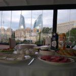 صبحانه در هتل سیتی والز باکو