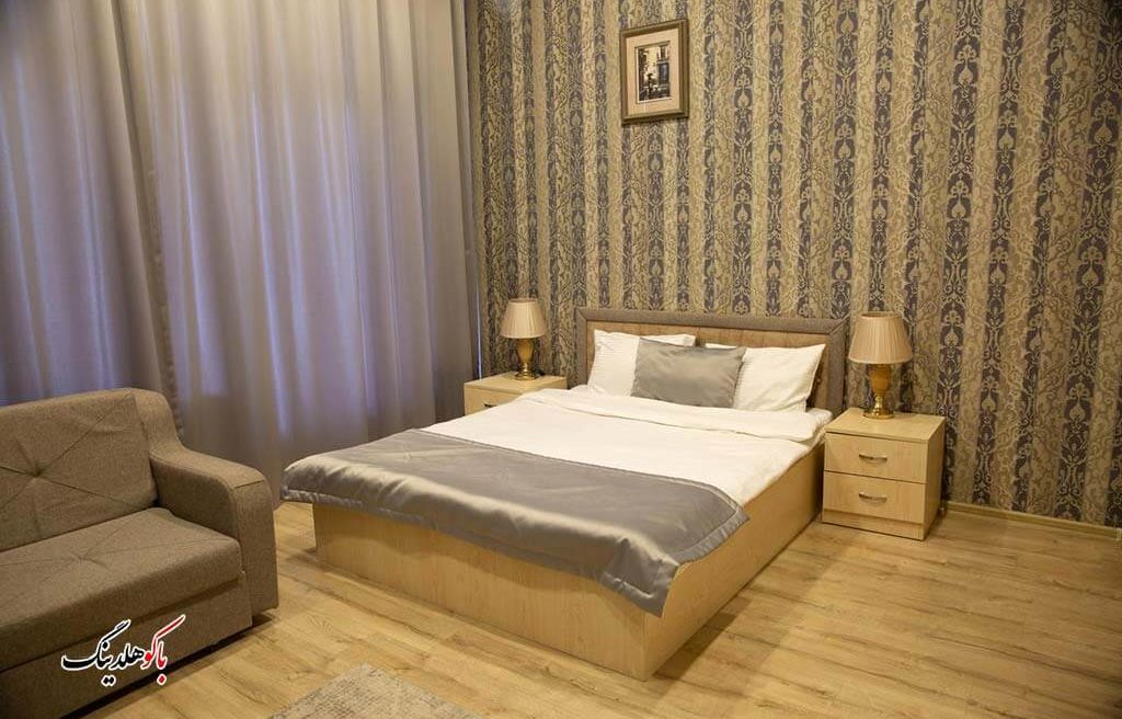 اتاق کینگ بد هتل لایف هالیدی باکو
