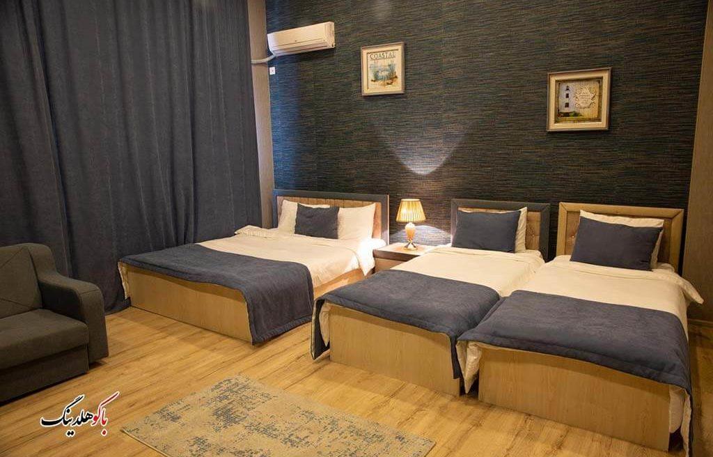 اتاق های چهار تخته هتل لایف هالیدی باکو