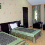 اتاق های دو تخته هتل AEF باکو