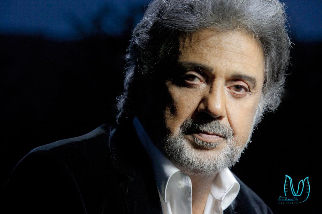 تصویری از داریوش در کنسرت داریوش در باکو