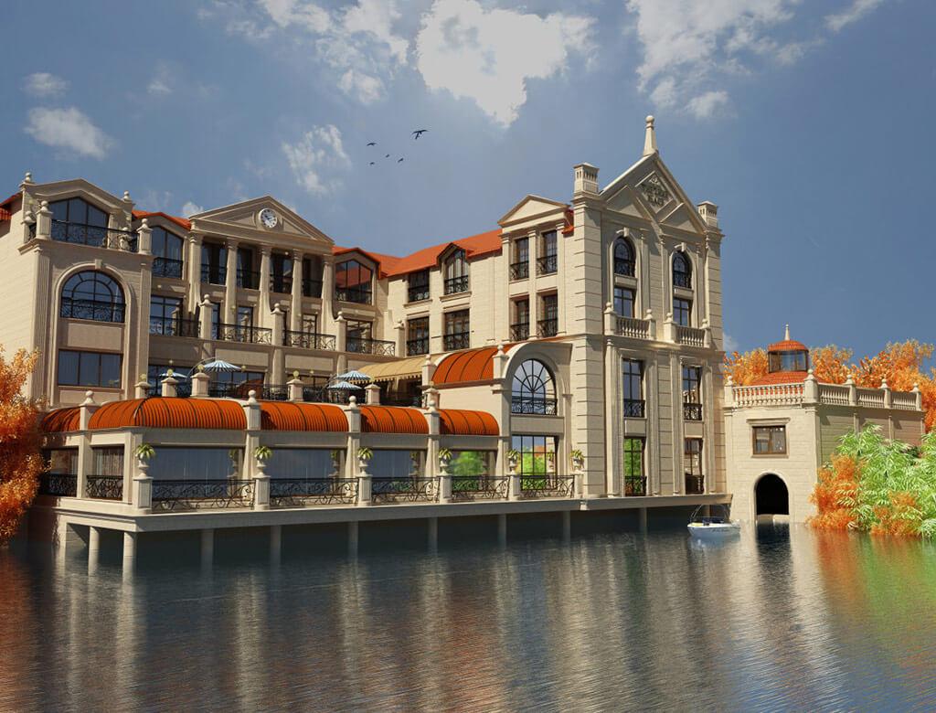 تصویری از هتل لیک پالاس باکو