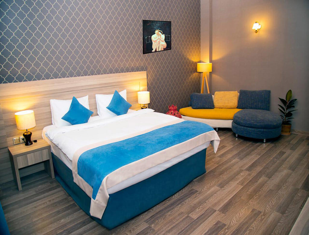 اتاق های دابل هتل میوزیم باکو