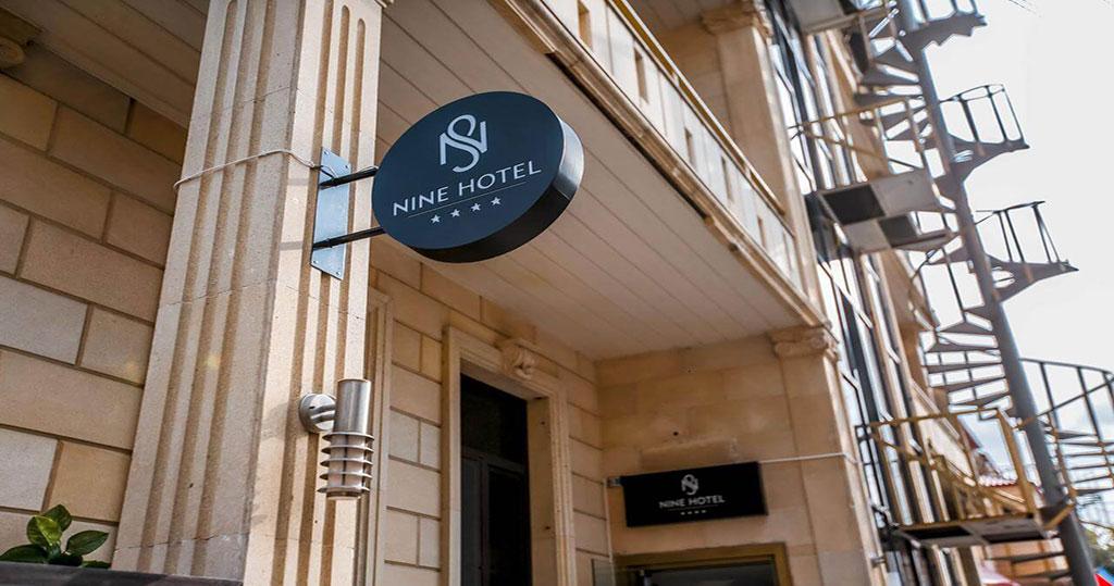 ساختمان هتل ناین باکو