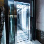 آسانسور در هتل پاساژ بوتیک باکو