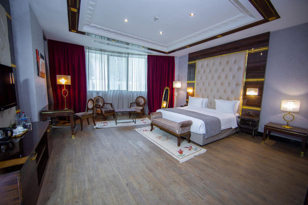 اتاق دابل هتل سافیر باکو