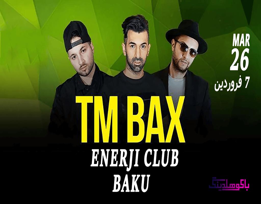 بنر کنسرت تی ام بکس در باکو
