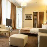 اتاق دابل دلوکس در هتل لندمارک باکو