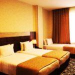 اتاق های تریپل هتل پیانو باکو