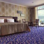اتاق های رو به دریا در هتل رامادا بیچ باکو
