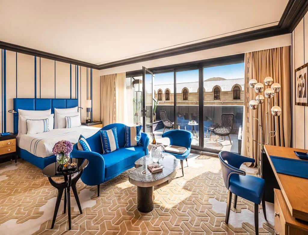 اتاق دابل هتل دینامو باکو