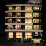 تصویری از ساختمان هتل نیو باکو