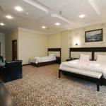 اتاق های سه تخته هتل نیو باکو
