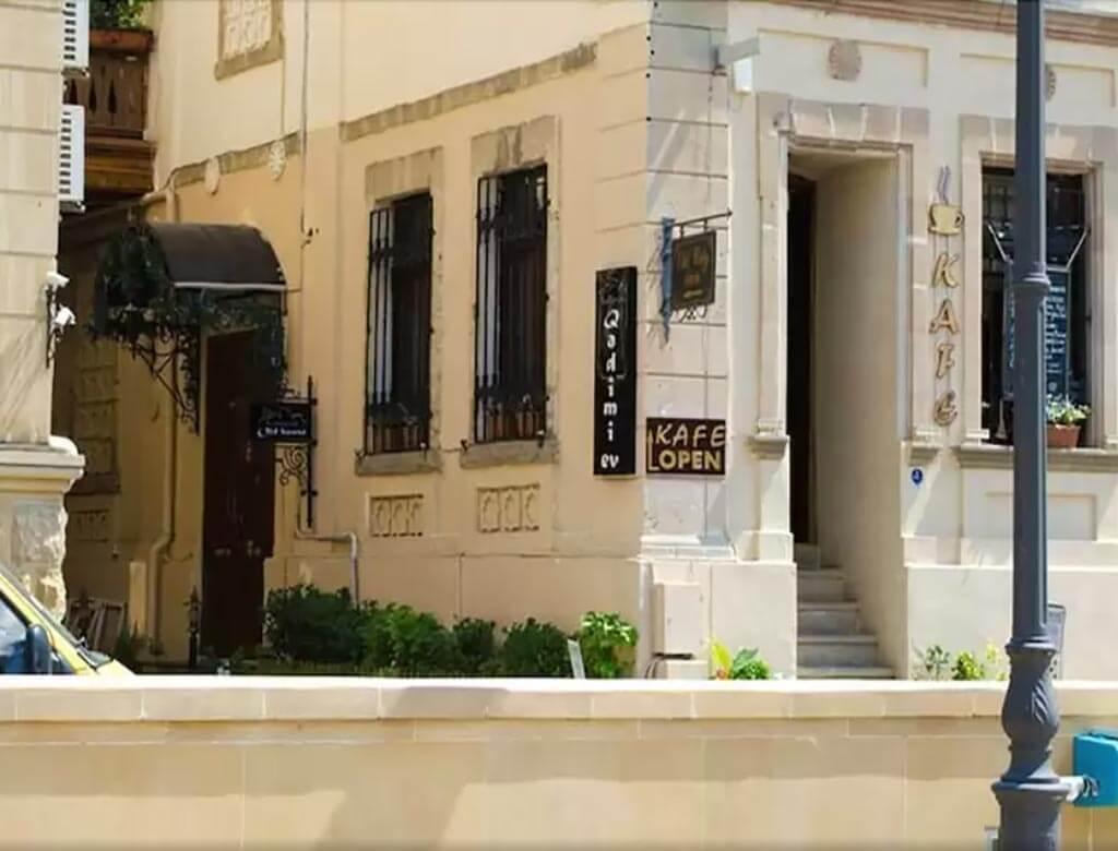 تصویری از ساختمان هتل اولد سیتی این باکو