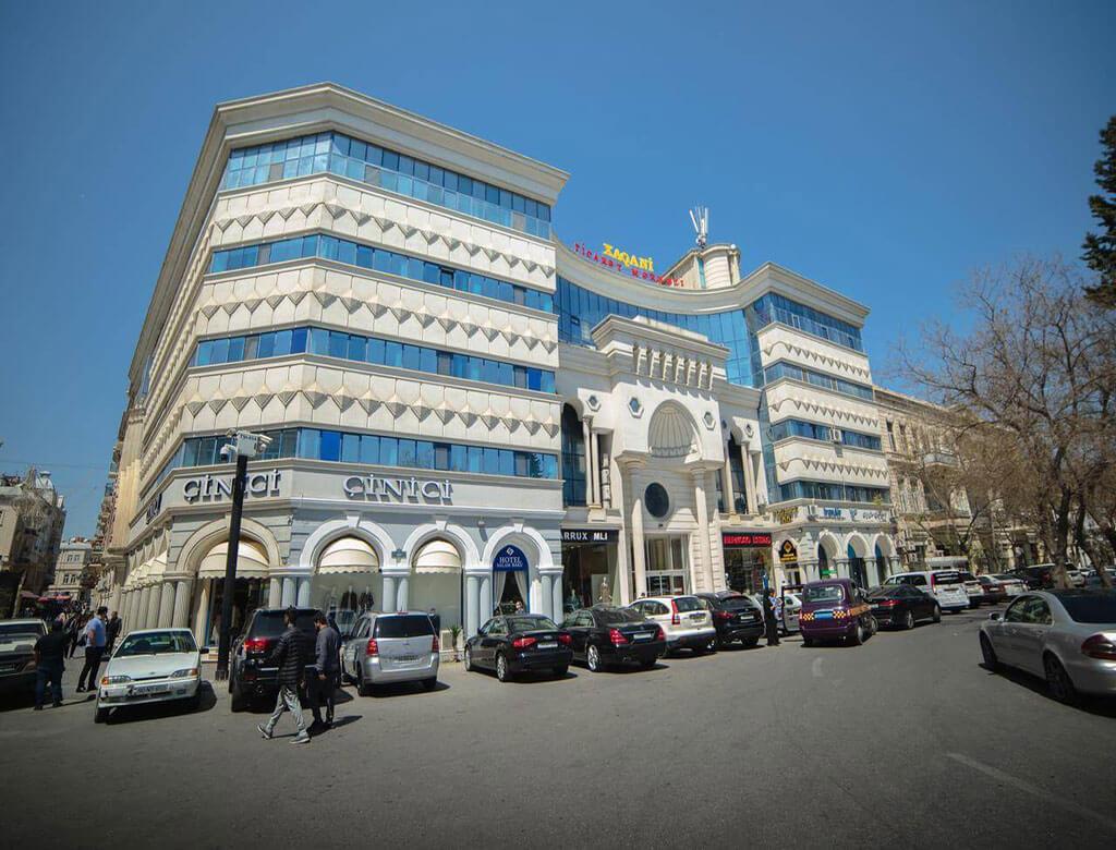 تصویری از ساختمان هتل سلام باکو