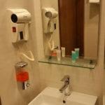 سشوار در حمام اتاق هتل سی ویو باکو