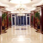 لابی هتل مدرن باکو