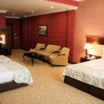 اتاق چهار تخته هتل مدرن باکو