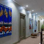 محوطه هتل آرت گالری بوتیک باکو