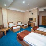 اتاق چهار تخته هتل کنتیننتال باکو