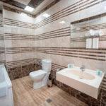 سرویس بهداشتی اتاق های هتل کنتیننتال باکو
