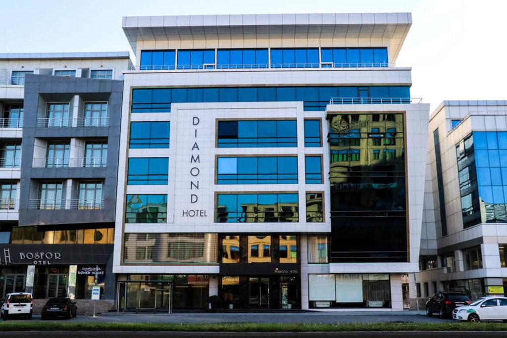 ساختمان هتل دیاموند باکو