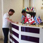 رسپشن هتل ال رویال باکو