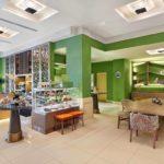 محوطه صبحانه هتل حیات رجنسی باکو