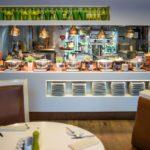 صبحانه سلف سرویس هتل جی دبلیو ماریوت باکو