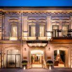 تصویری از ساختمان هتل مرچنت باکو