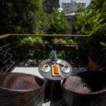 بالکن اتاق های هتل سیتروس بوتیک باکو
