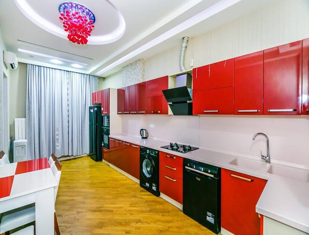 آشپزخانه آپارتمان شماره 3
