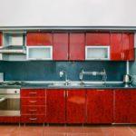 آشپزخانه آپارتمان شماره 8