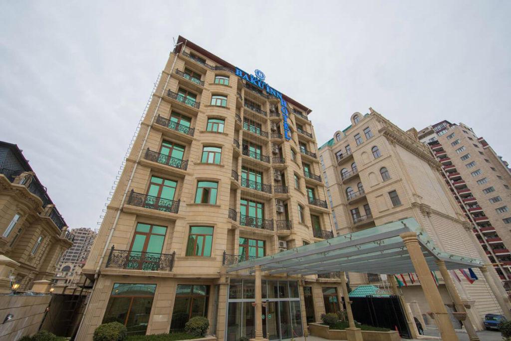 ساختمان هتل باکو این باکو