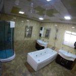 سرویس بهداشتی اتاق های هتل گلدن فالکن باکو