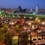 رستوران روباز هتل ریویرا باکو