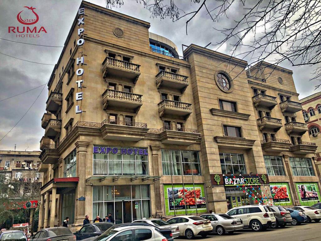 ساختمان هتل روما اکسپو باکو