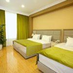 اتاق چهار نفره هتل روسل باکو