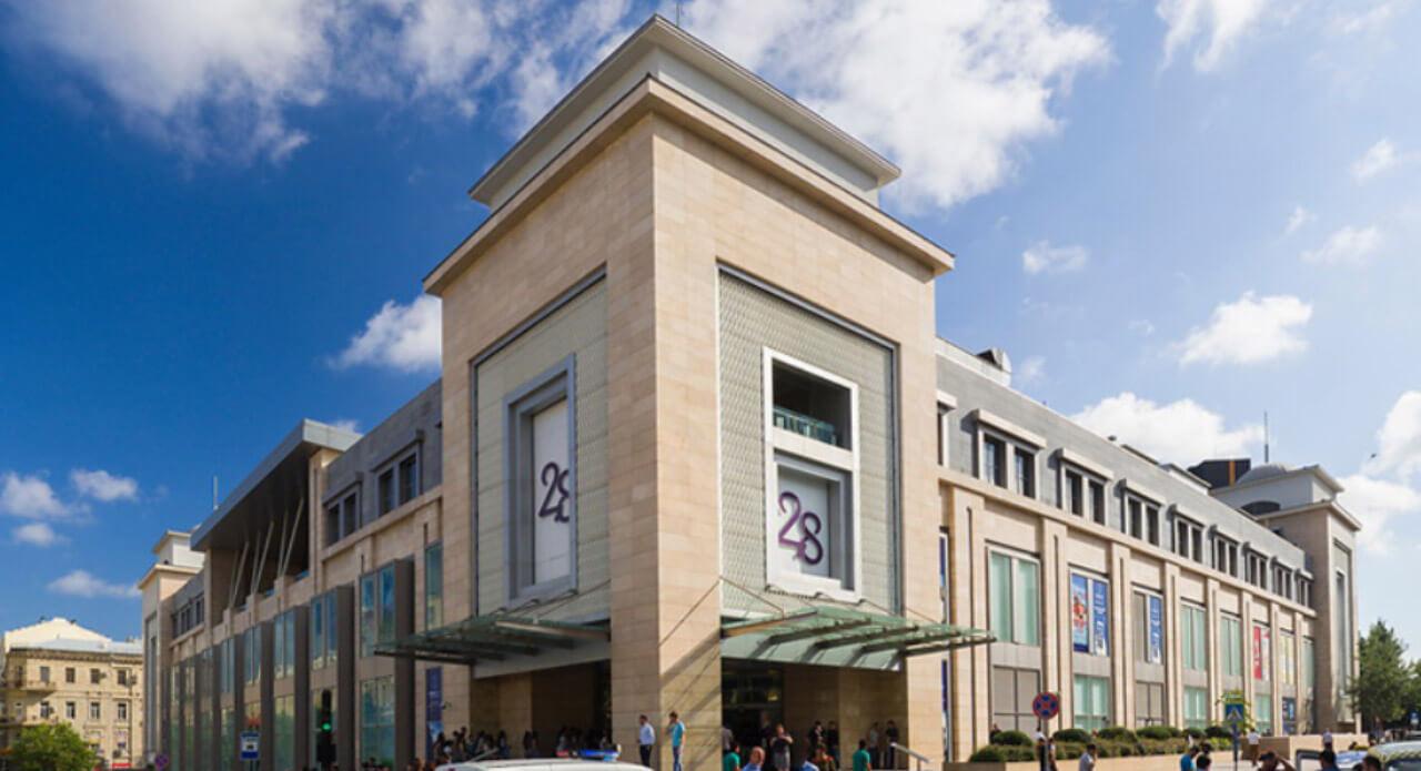 تصویری از مرکز خرید 28 مال