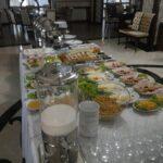 محوطه صبحانه هتل آزالیا باکو