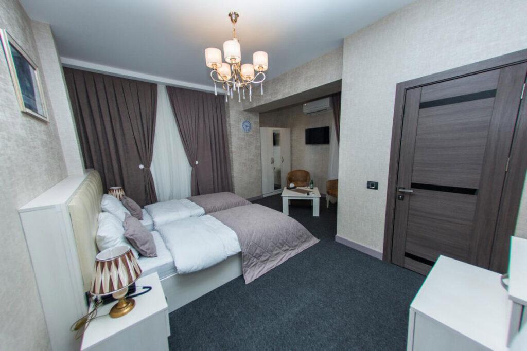 اتاق توئین هتل باکو استایل