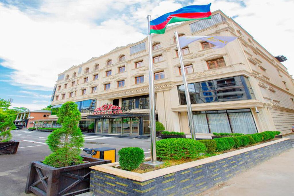 ساختمان هتل دیزایر باکو