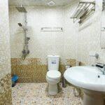 سرویس بهداشتی اتاق های هتل ایست کستل بوتیک باکو