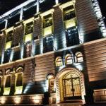 تصویری از ساختمان هتل ایست لجند باکو