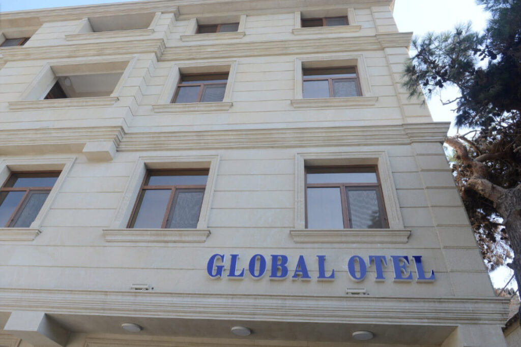 ساختمان هتل گلوبال باکو